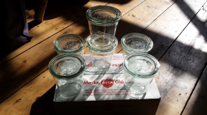 WECK Glasses imported in Germany